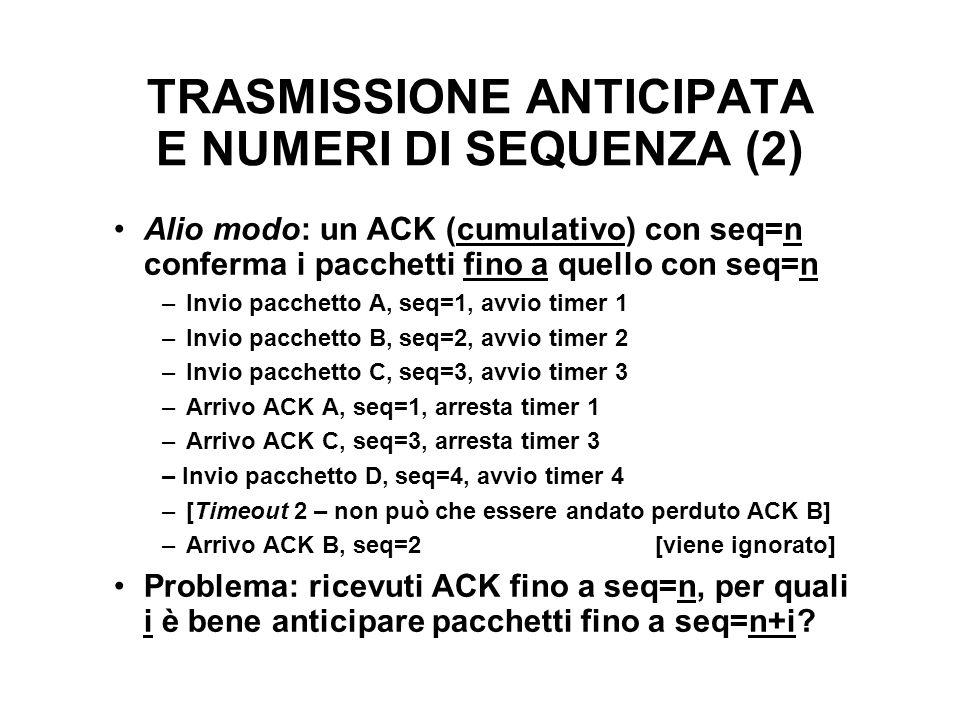 TRASMISSIONE ANTICIPATA E NUMERI DI SEQUENZA (2)