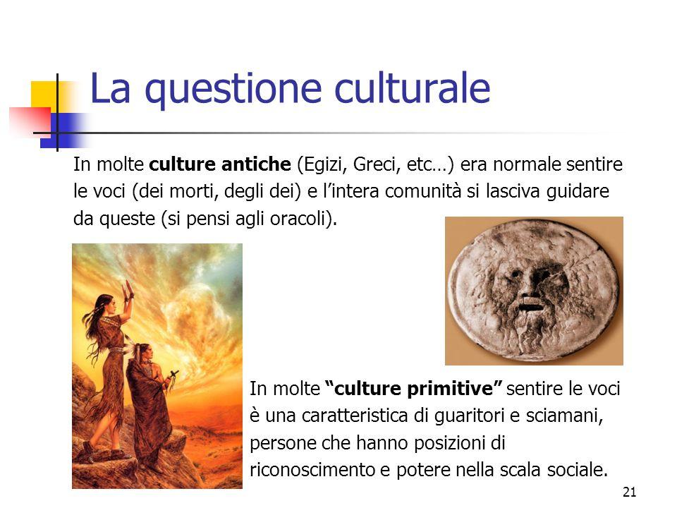 La questione culturale