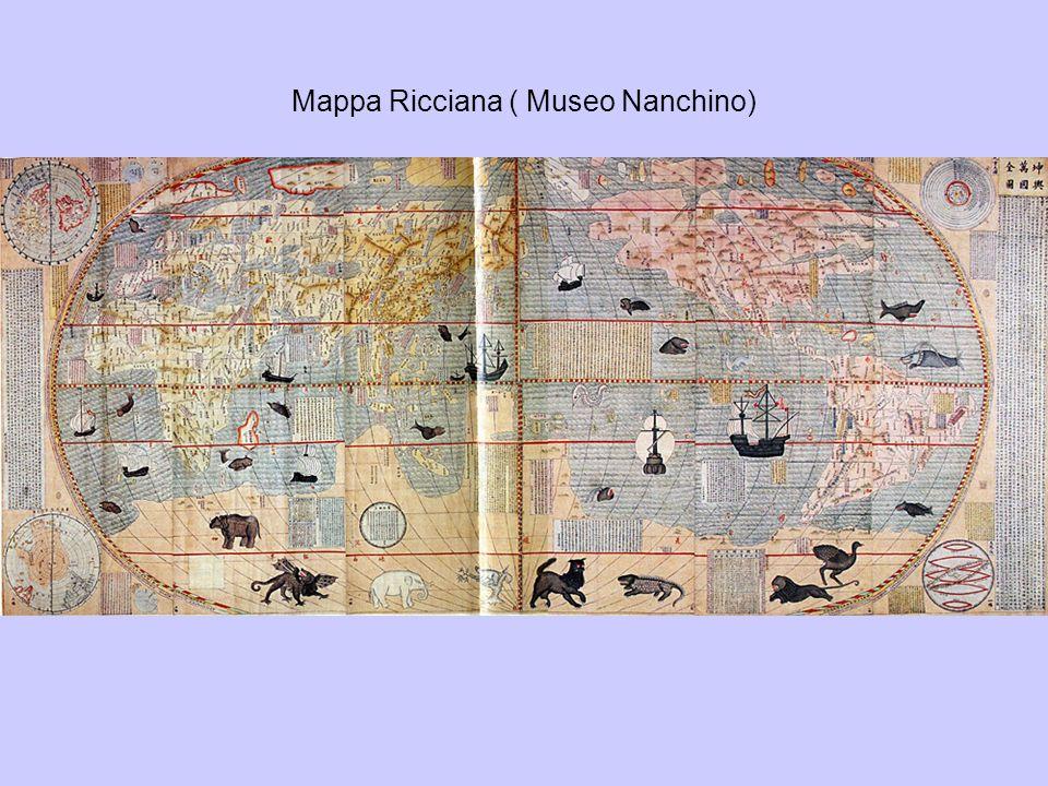 Mappa Ricciana ( Museo Nanchino)