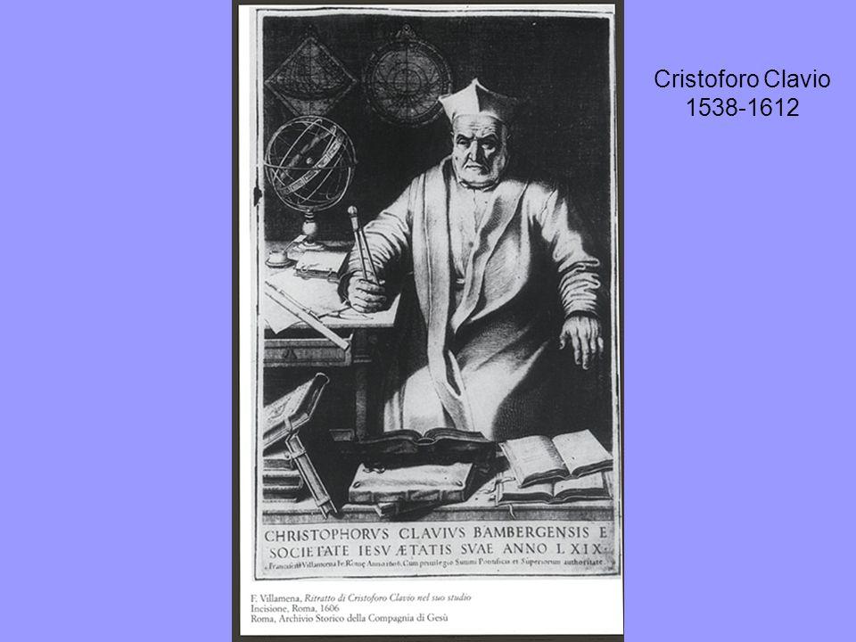 Cristoforo Clavio 1538-1612