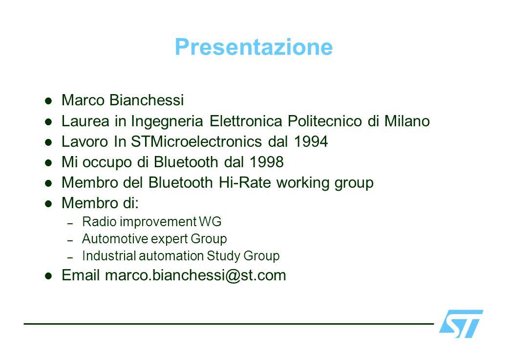 Presentazione Marco Bianchessi