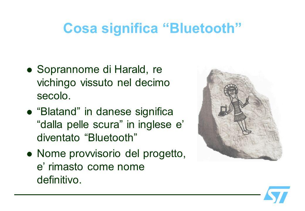 Cosa significa Bluetooth