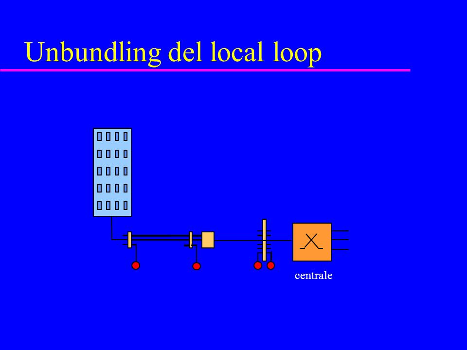 Unbundling del local loop