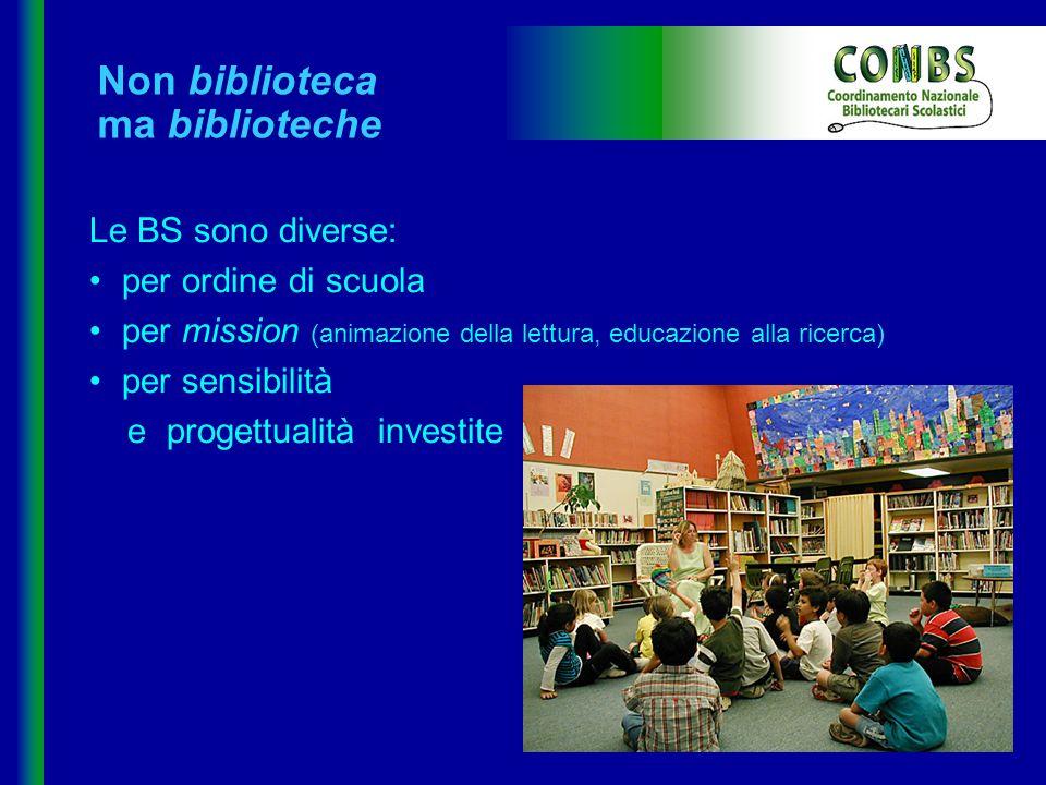 Non biblioteca ma biblioteche