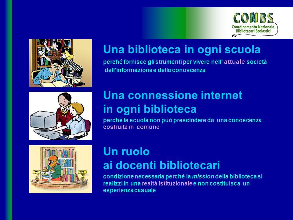Una biblioteca in ogni scuola
