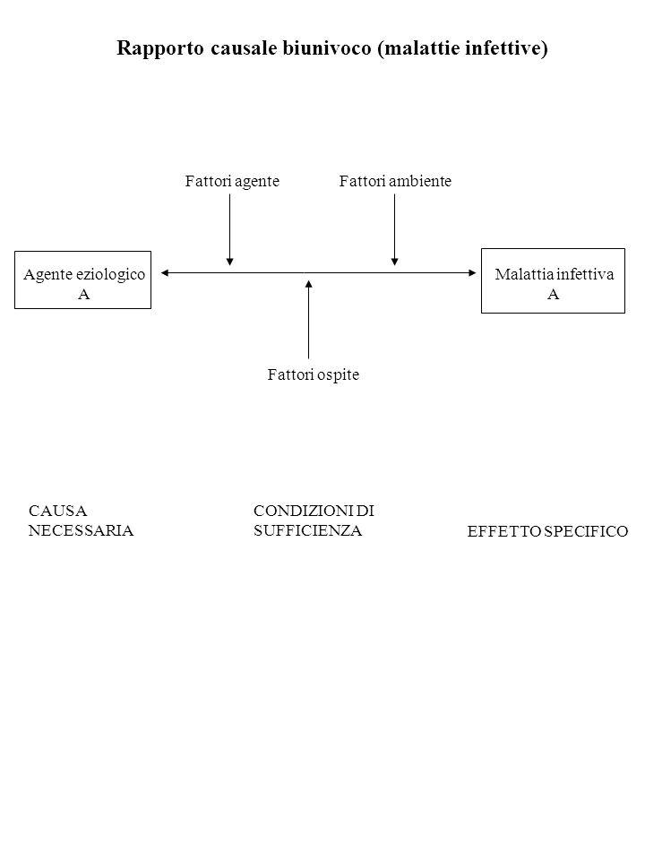 Rapporto causale biunivoco (malattie infettive)