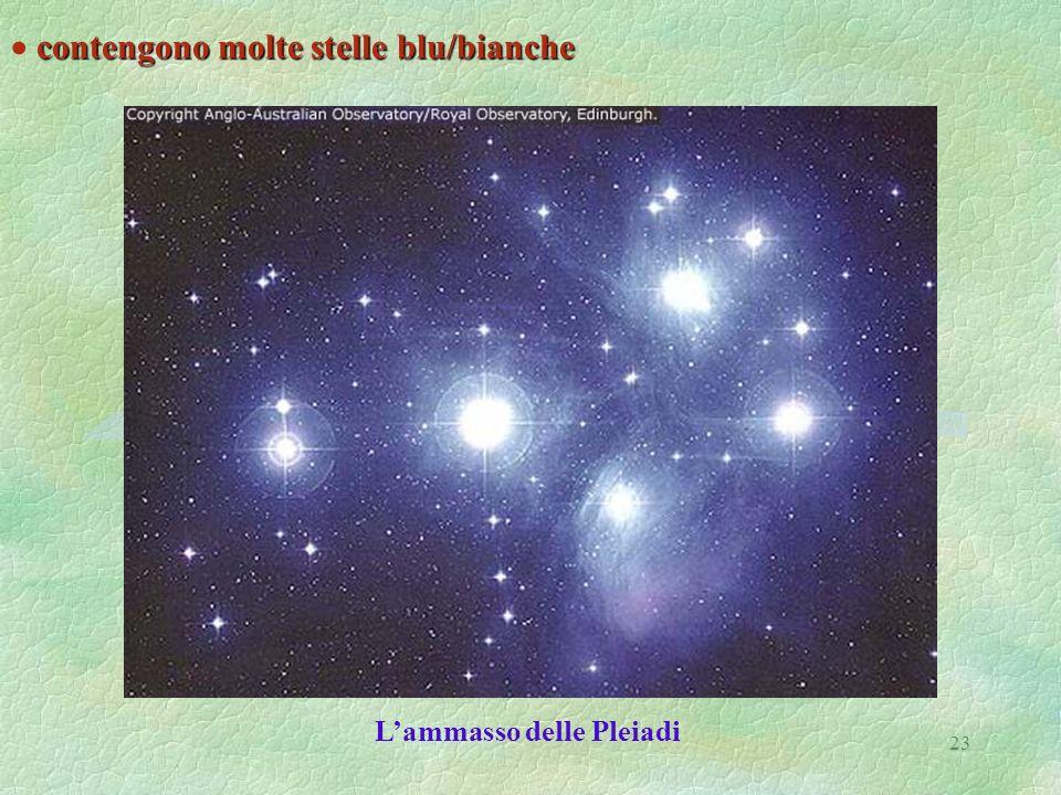 L'ammasso delle Pleiadi