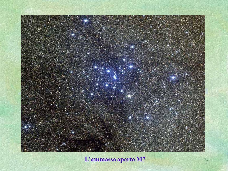 L'ammasso aperto M7