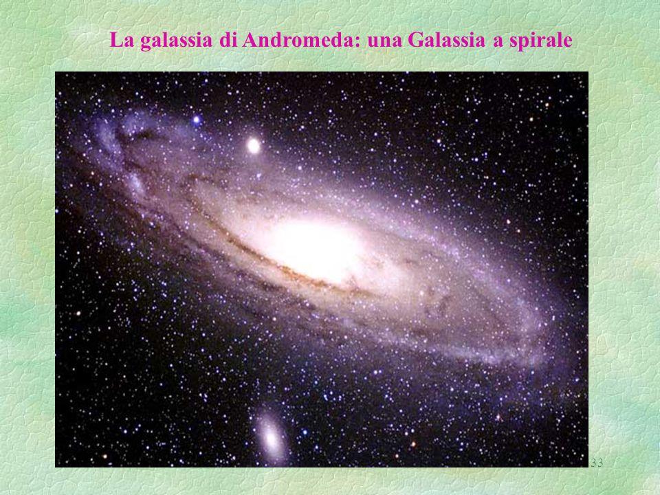La galassia di Andromeda: una Galassia a spirale