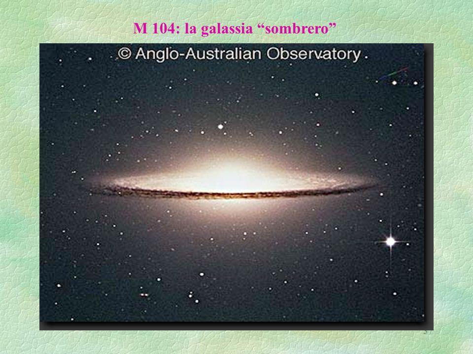 M 104: la galassia sombrero