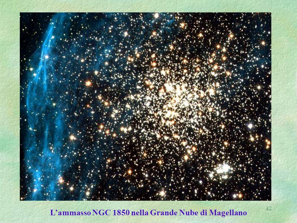 L'ammasso NGC 1850 nella Grande Nube di Magellano