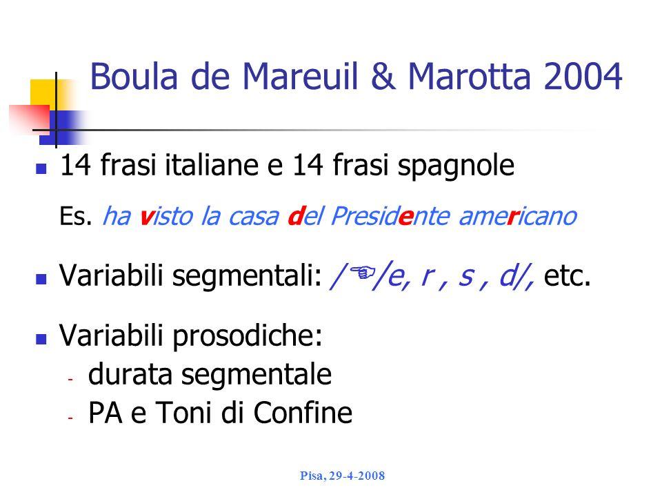 Boula de Mareuil & Marotta 2004