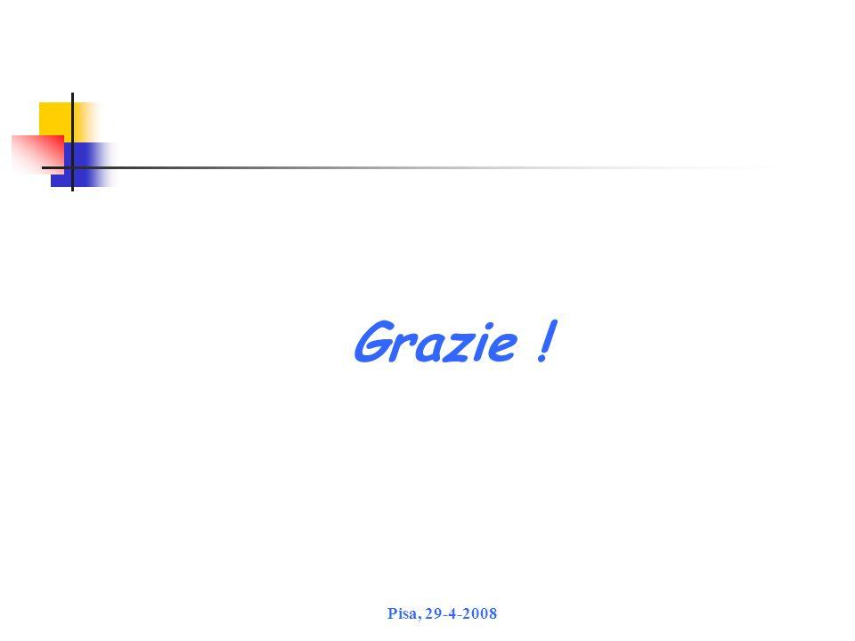 Grazie ! Pisa, 29-4-2008