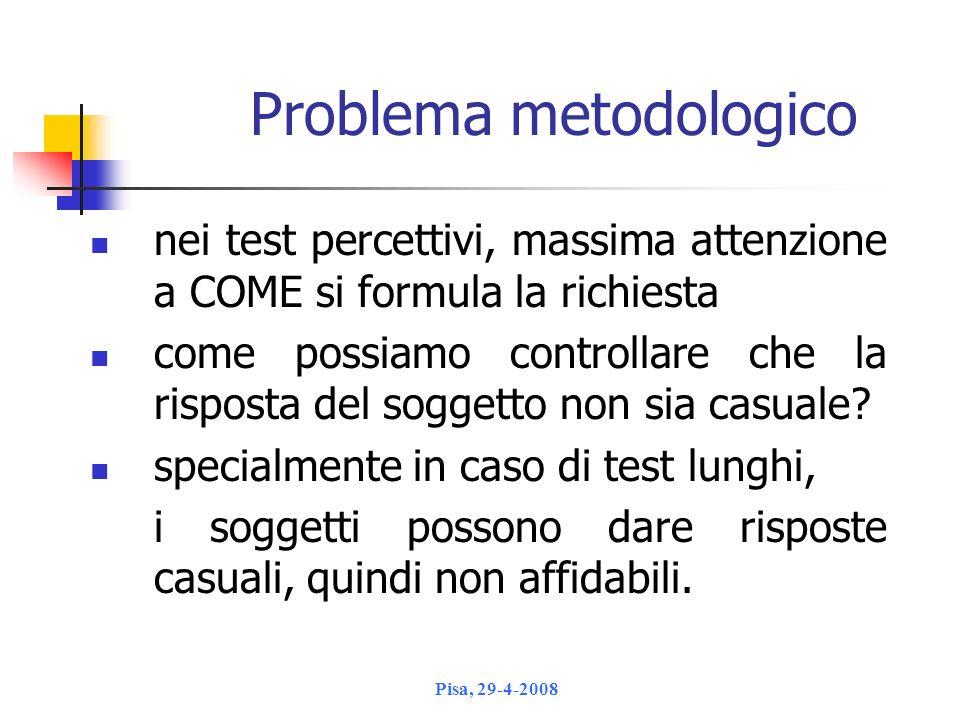 Problema metodologico