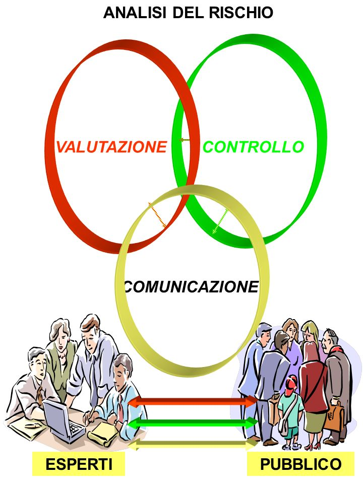 ANALISI DEL RISCHIO CONTROLLO VALUTAZIONE COMUNICAZIONE ESPERTI PUBBLICO