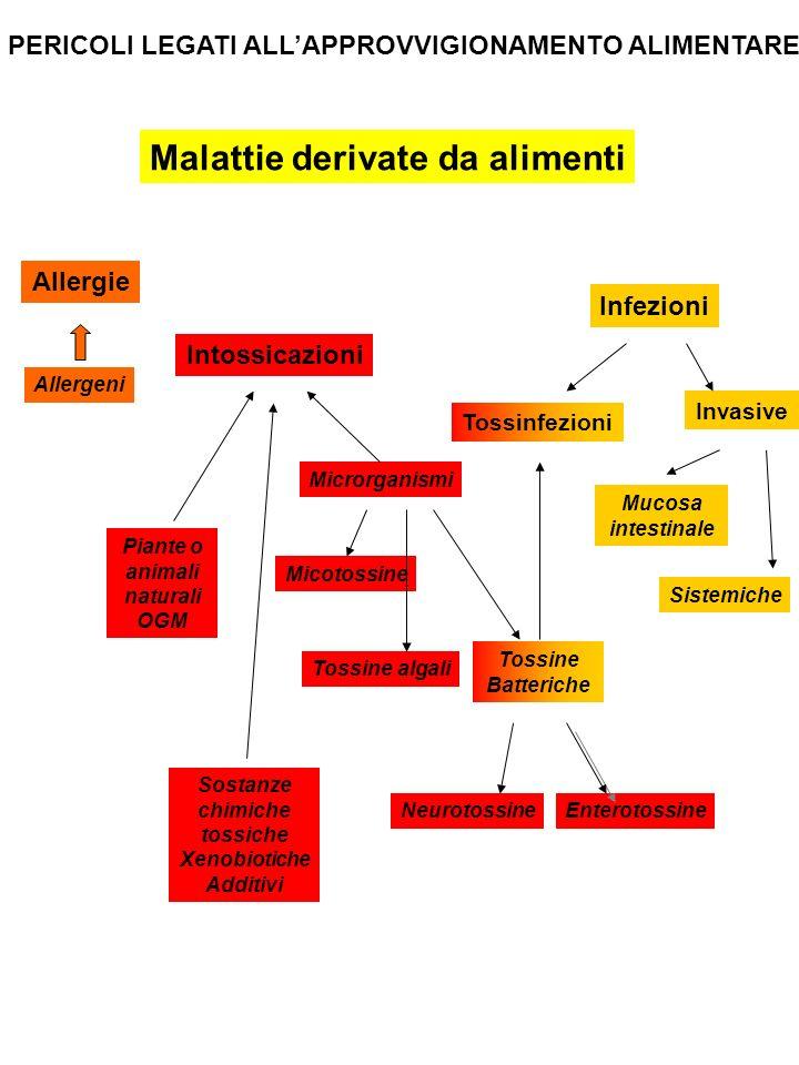 Malattie derivate da alimenti