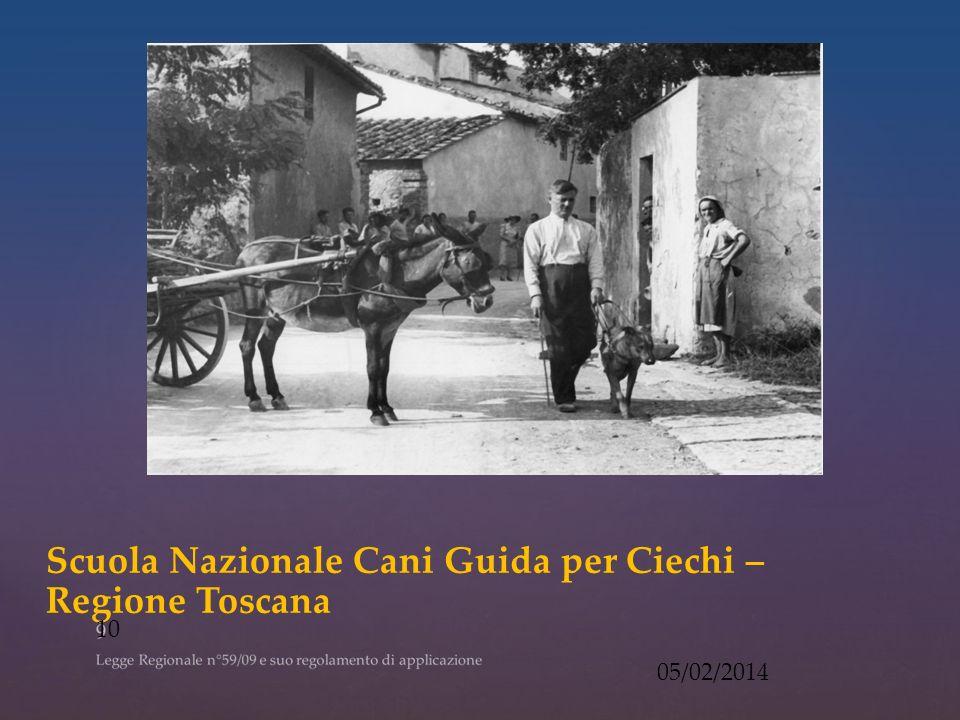 Scuola Nazionale Cani Guida per Ciechi – Regione Toscana