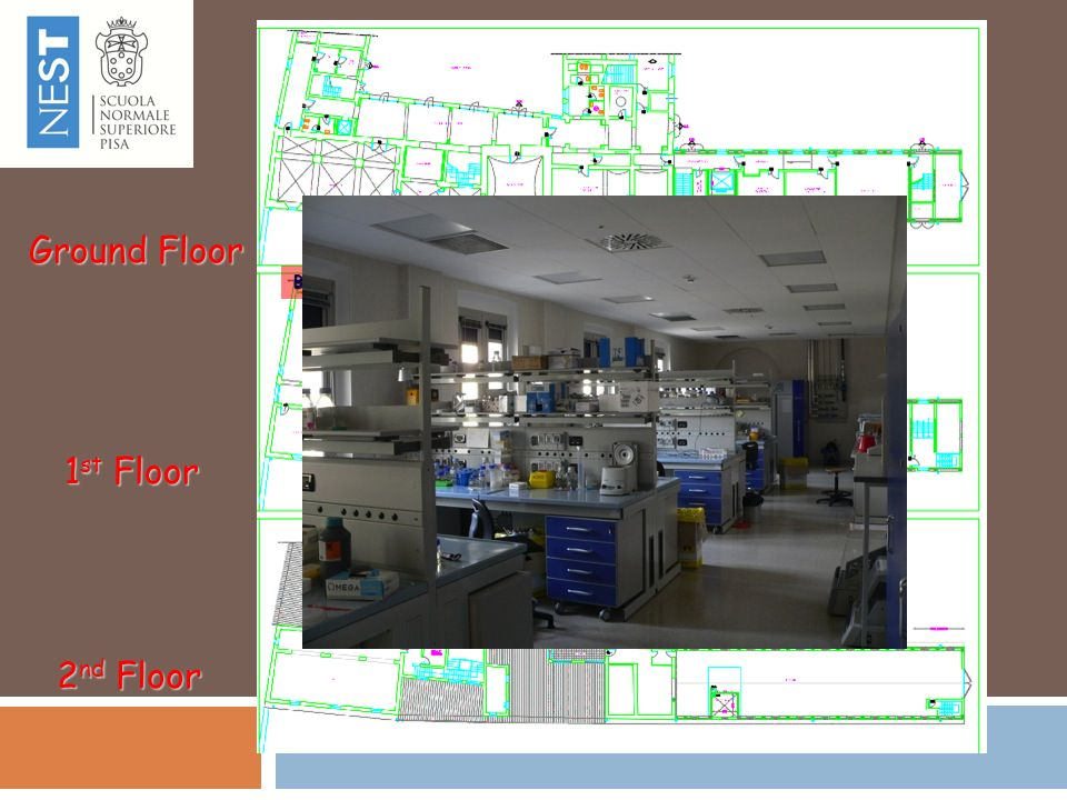 Ground Floor 1st Floor 2nd Floor Biomolecular Physics NMR Cold Room