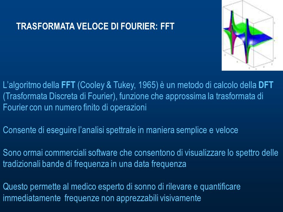TRASFORMATA VELOCE DI FOURIER: FFT