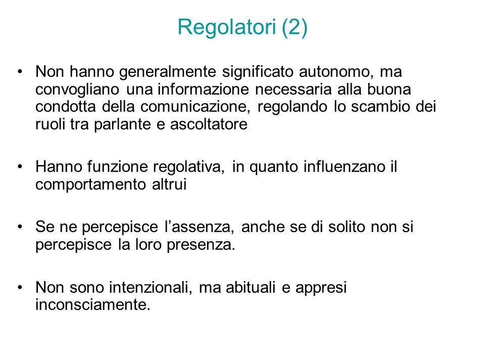 Regolatori (2)