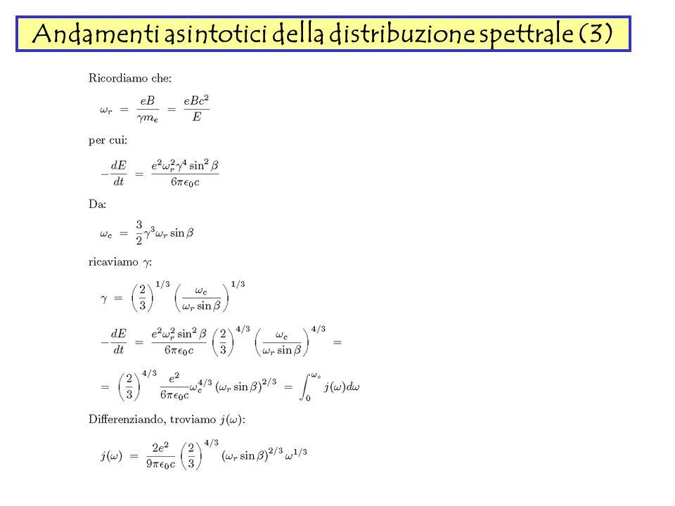 Andamenti asintotici della distribuzione spettrale (3)