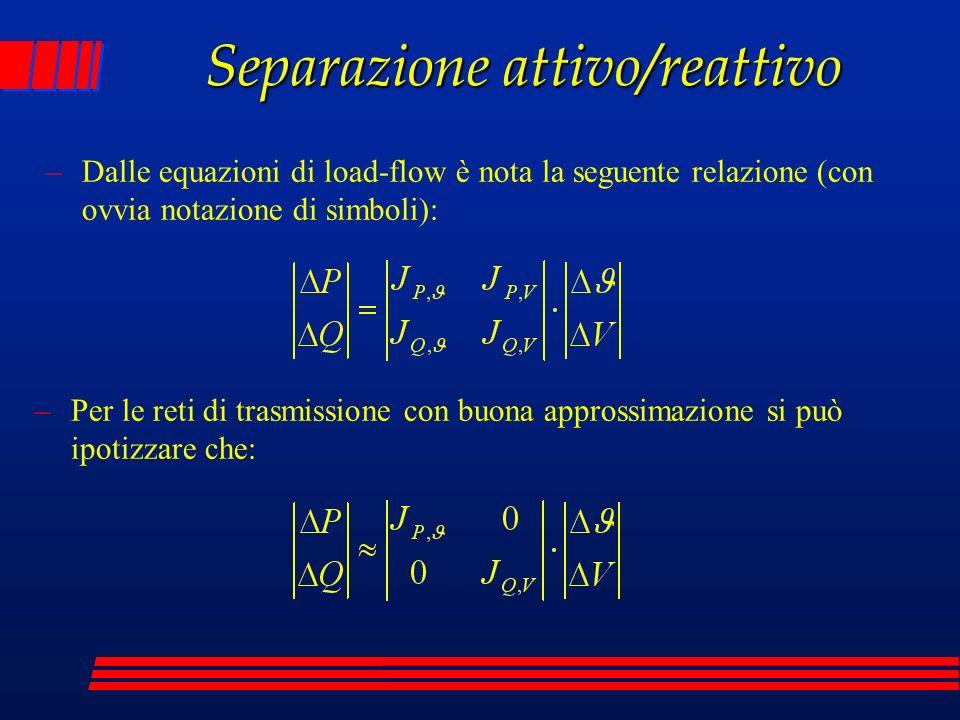 Separazione attivo/reattivo