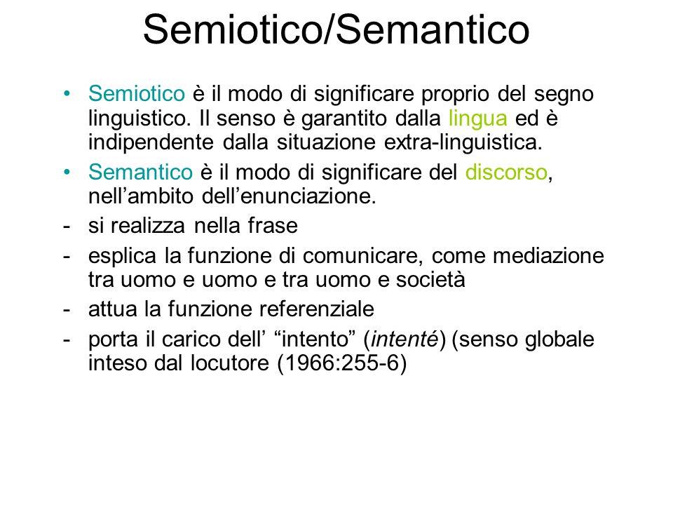Semiotico/Semantico