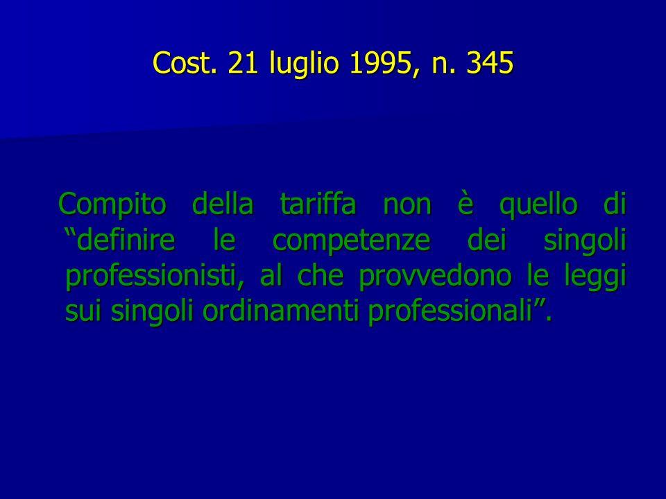 Cost. 21 luglio 1995, n. 345