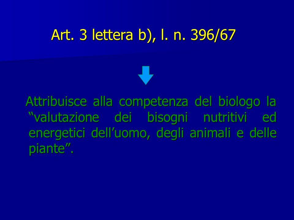 Art. 3 lettera b), l. n. 396/67