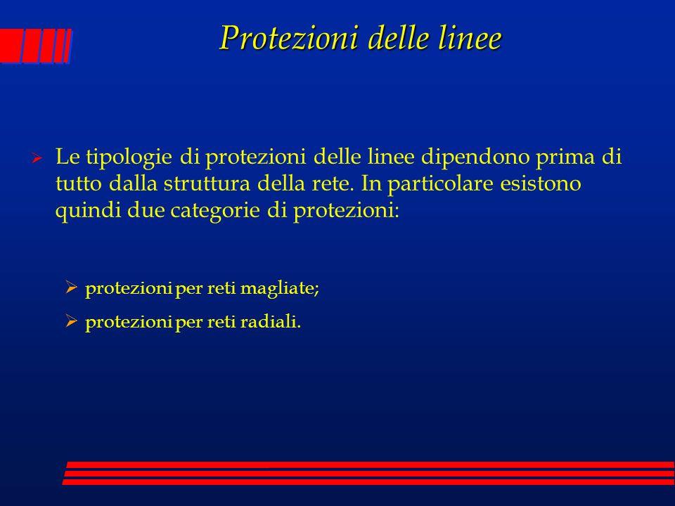 Protezioni delle linee