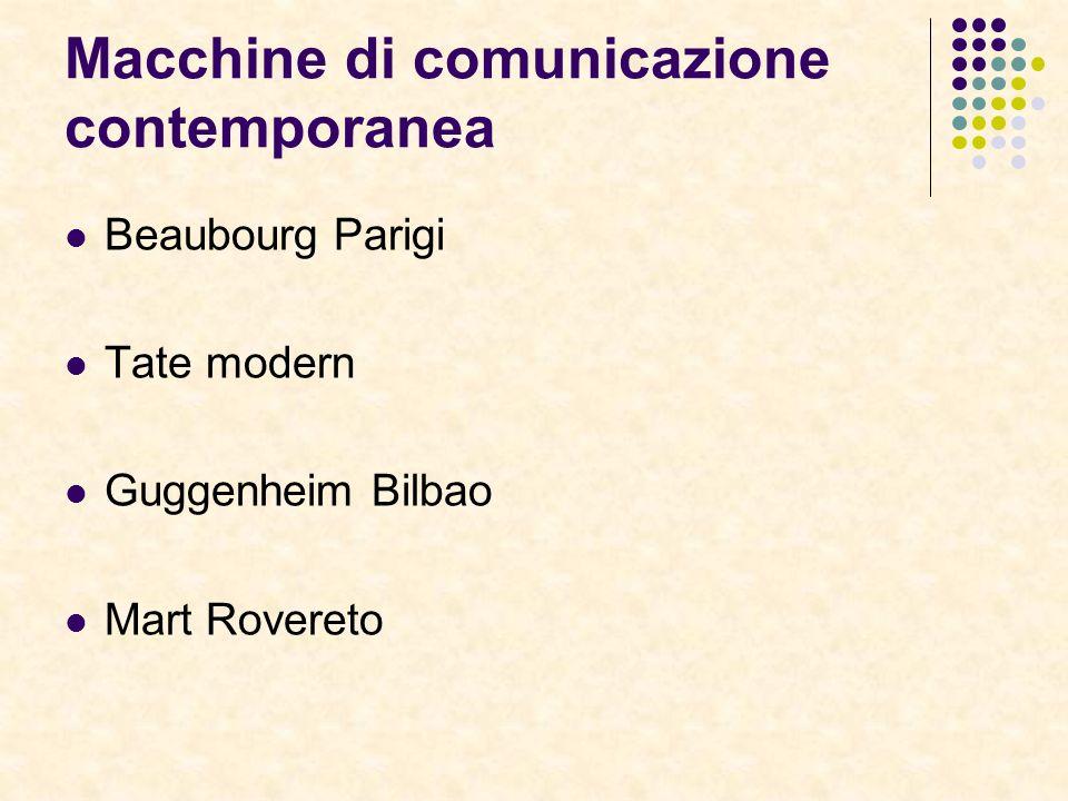 Macchine di comunicazione contemporanea