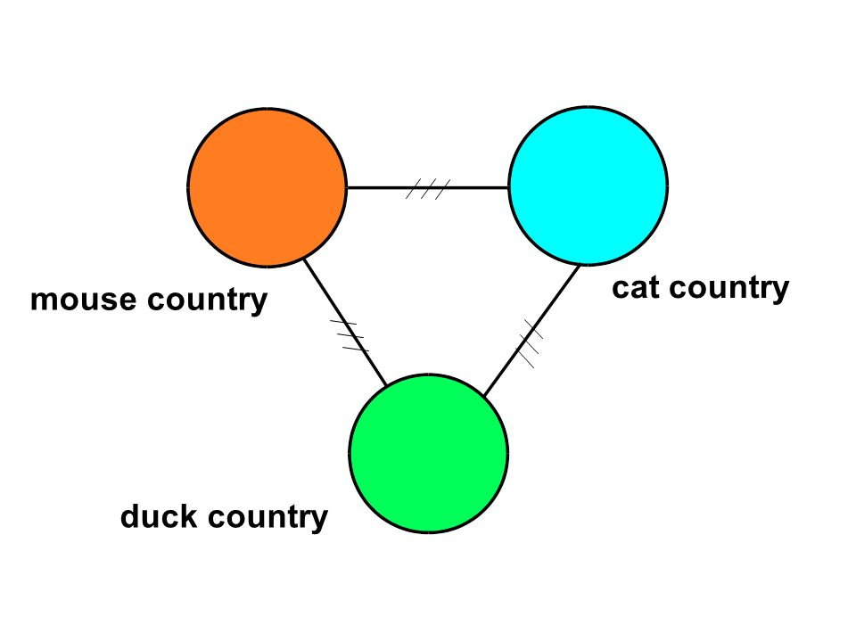 cat country mouse country duck country
