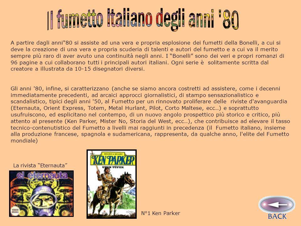 Il fumetto Italiano degli anni 80