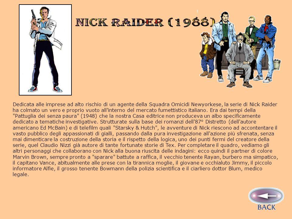 NICK RAIDER (1988)