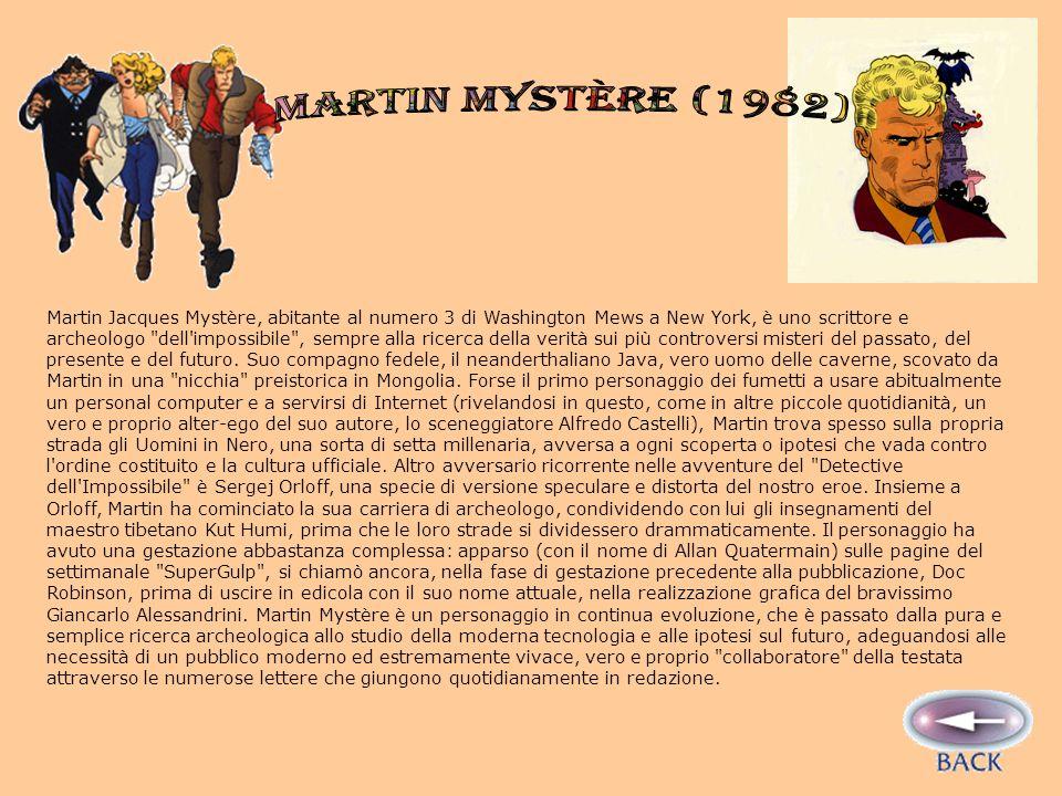 MARTIN MYSTÈRE (1982)
