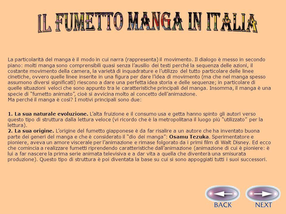 IL FUMETTO manga in italia