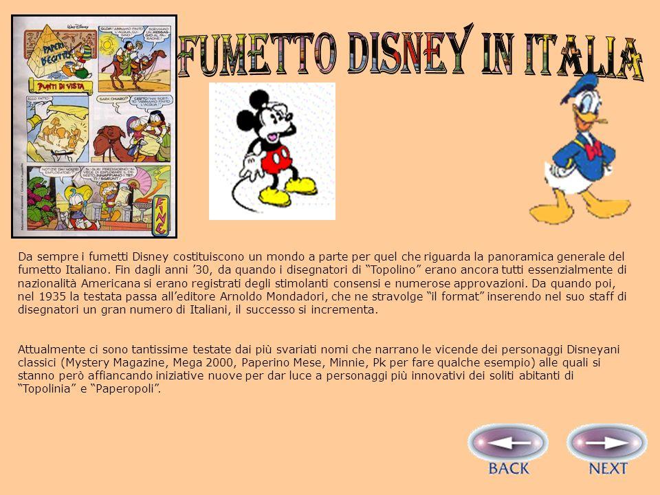 IL FUMETTO disney in italia