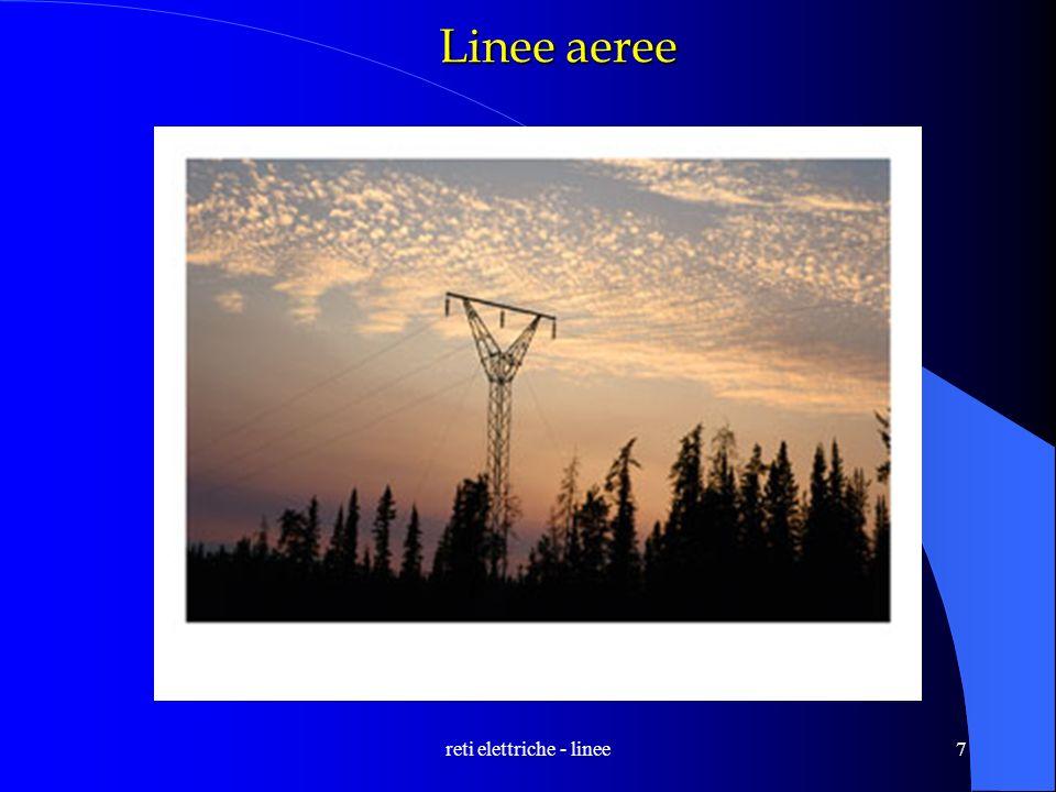 reti elettriche - linee