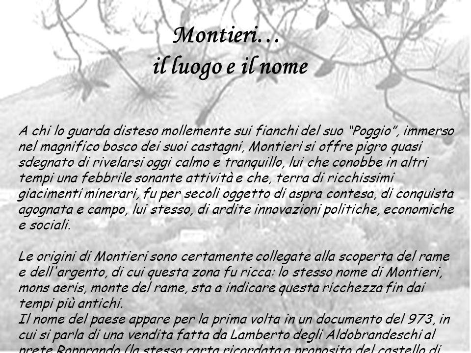 Montieri… il luogo e il nome