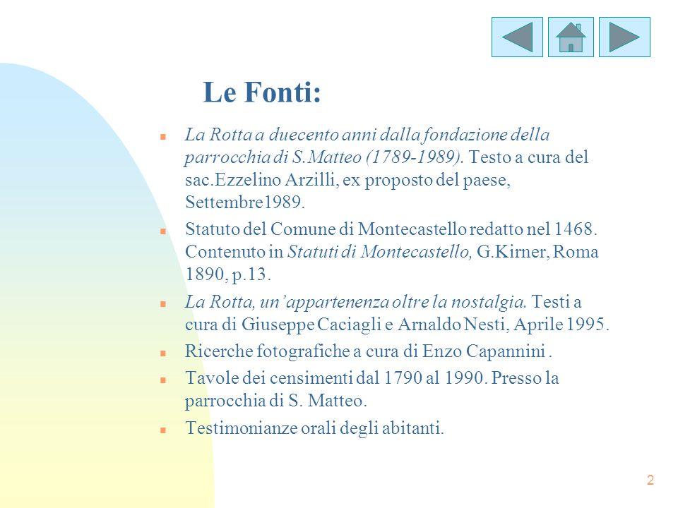 Le Fonti: