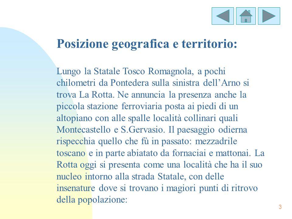 Posizione geografica e territorio: