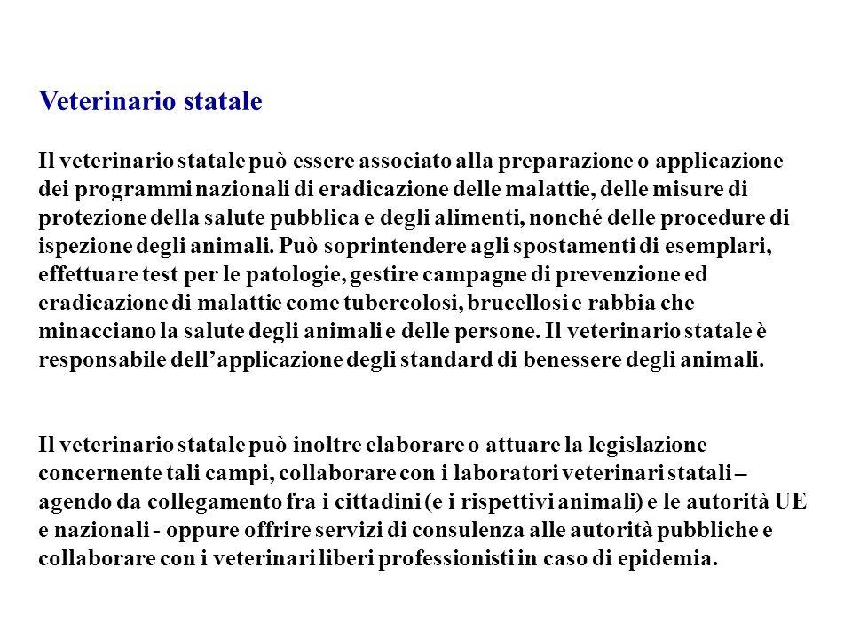 Veterinario statale