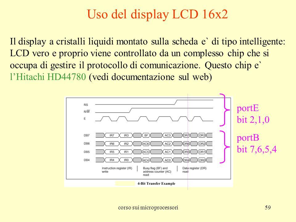 corso sui microprocessori