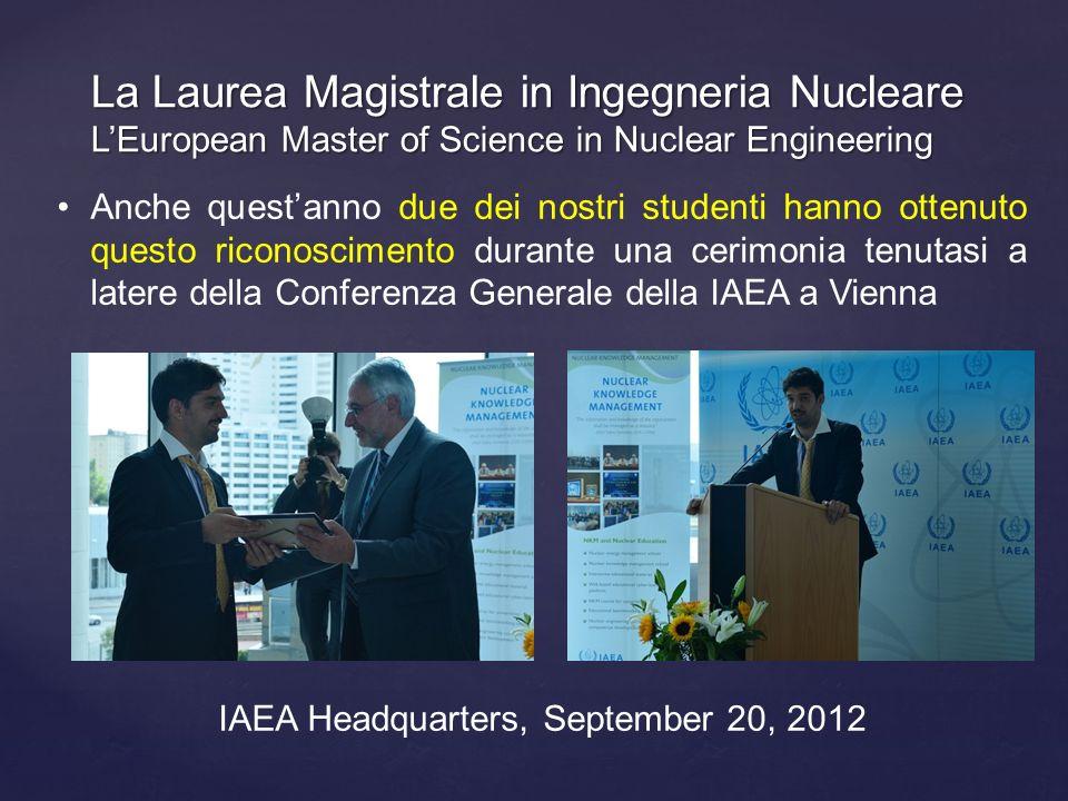 IAEA Headquarters, September 20, 2012