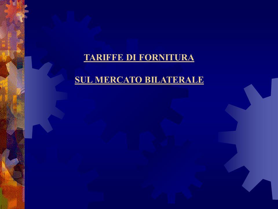 SUL MERCATO BILATERALE