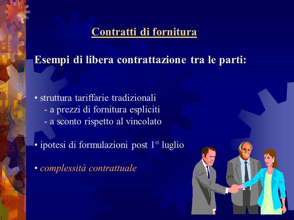 Contratti di fornitura