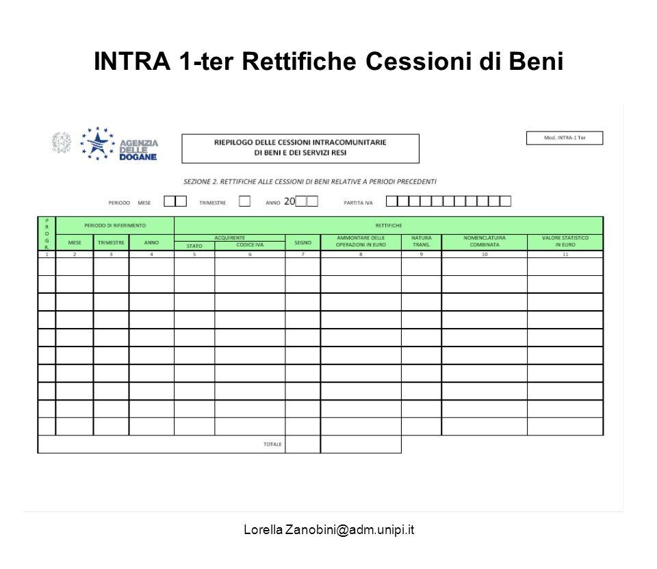 INTRA 1-ter Rettifiche Cessioni di Beni