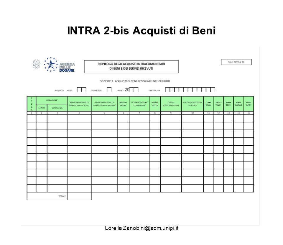 INTRA 2-bis Acquisti di Beni