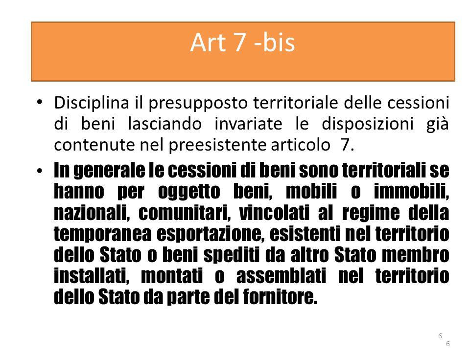 Art 7 -bis