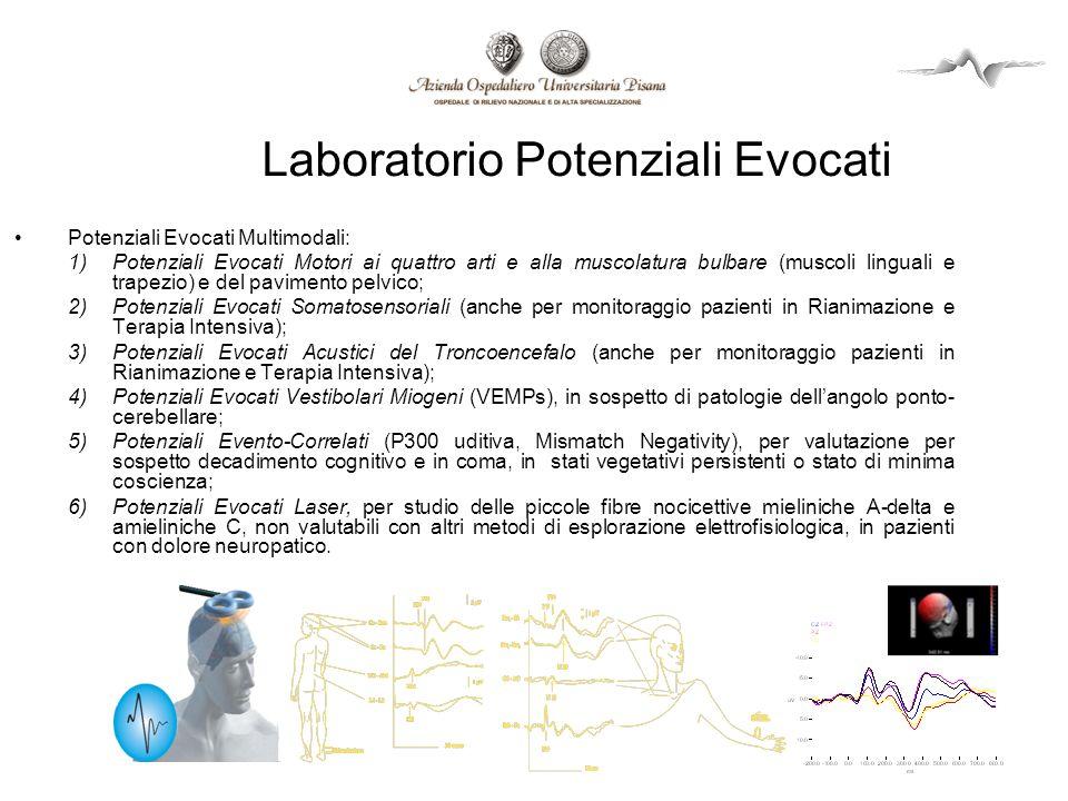 Laboratorio Potenziali Evocati